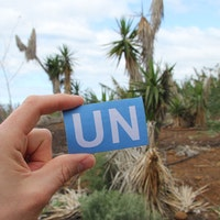 United Nations Hook Patch Large