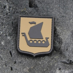 Vikingship Shield Hook PVC Desert Patch
