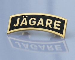 Pin JÄGARE Gold/Black