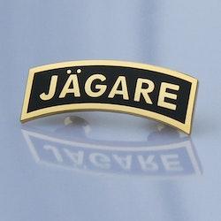 Pin JÄGARE Gold/Black