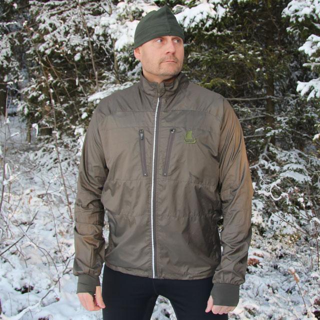 Running Jacket Green