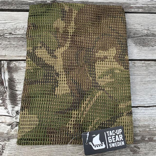 Classic British Scrim Net Scarf in DPM camouflage