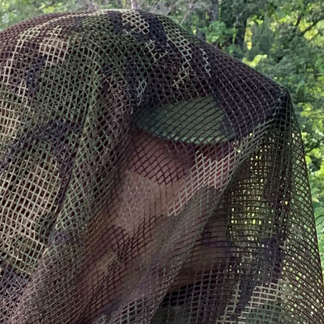 Closer look at a Scrim Net Scarf DPM