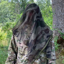 Scrim Net Scarf FR Commando