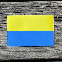 Sticker Blå-Gul