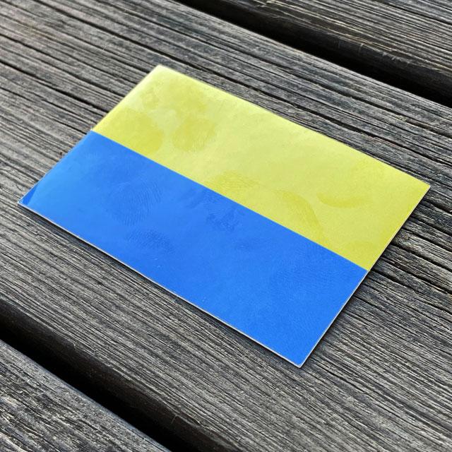 Sticker Blå-Gul_2