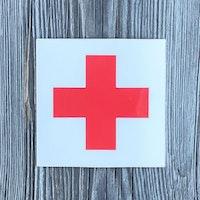 Sticker Medic Red Cross