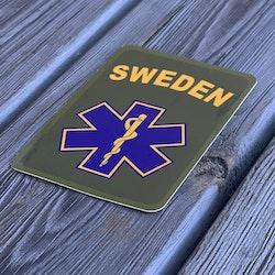 Sticker SWE MEDIC Star