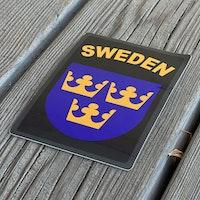 Sticker Sweden Black