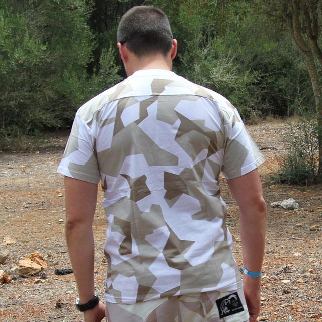 Backside of a T-Shirt M90 Arctic Winter.