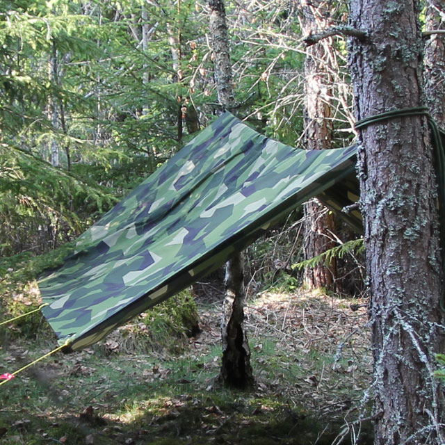 A closer look at the long side of the Tarp M90 Light