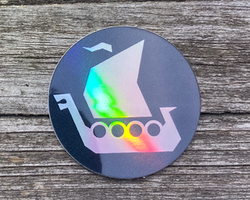 TUG Vikingship Logo Sticker