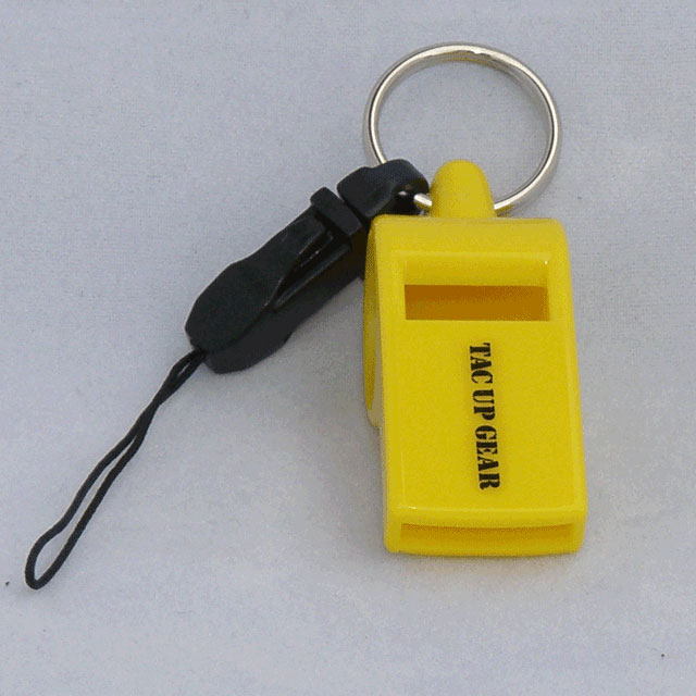 A product picture Whistle H.E.L.P with logo text.