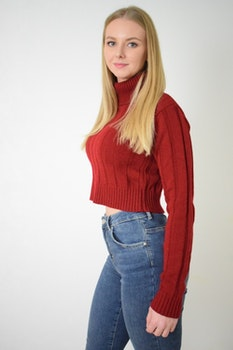 #DUNDR KNITTED CROP