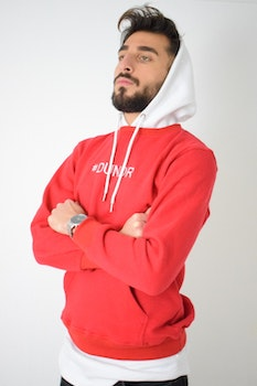"""#DUNDR """"DOUBLE"""" HOODIE"""
