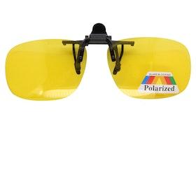 Clip on solglasögon, polariserande