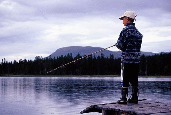 Fiskekort (Familj) Gränjestjärn, 3 fiskar