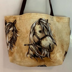 Shoppingkasse häst