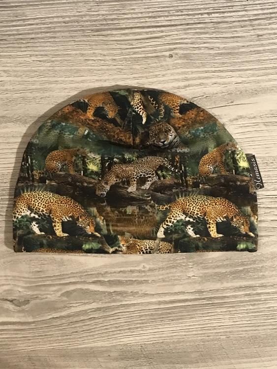 Mössa Vuxen - Leopard