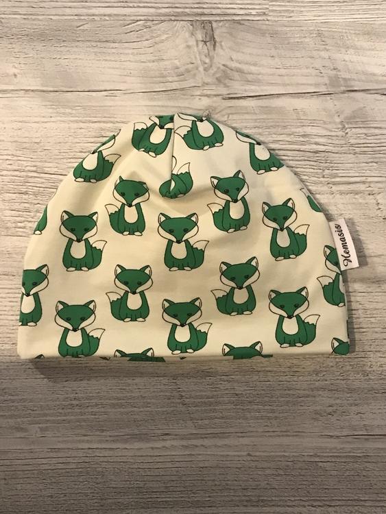 Mössa Vuxen - Grön räv