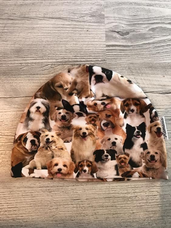 Mössa Barn 1-5 år - Hundar valpar