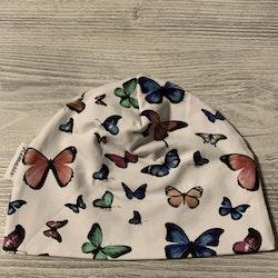 Mössa Barn 1-5 år - Fjärilar
