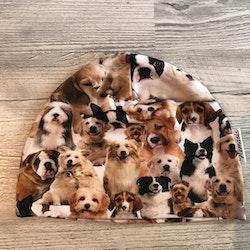Mössa Barn/Ungdom 6-14 år - Hundar valpar