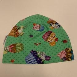 Mössa Barn/Ungdom 6-14 år - Cupcakes