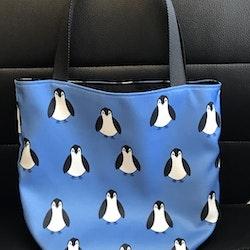 Kasse stor med pingviner