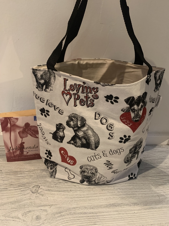 Kasse stor i love dogs and cats