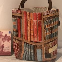 Kasse stor böcker