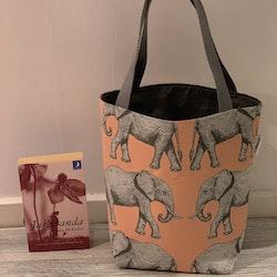 Kasse medium med elefanter