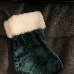 Julstrumpa Grön