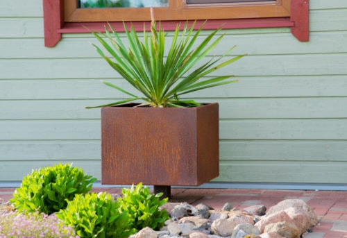 Corten kruka Steel Flower Pot Ulla L