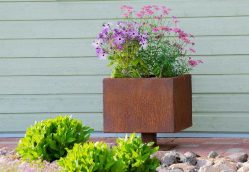 Cortenkruka Steel Flower Pot Ulla M