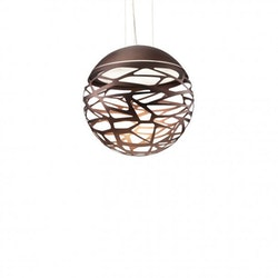 Kelly small sphere so2 pendant light
