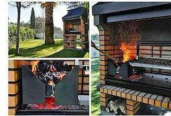 Argentinsk grill. Fraktfritt