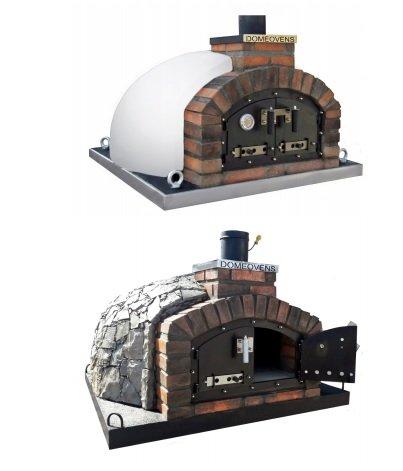 110 cm Pizzaugn Franco dubbeldörr med eller utan natursten