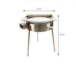 Stekhäll Gasol PRO-720 inox ( rostfritt stål )