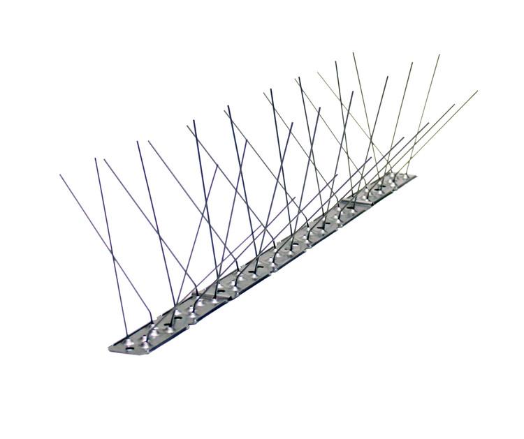 10meter, 100 % Rostfria Fågelpiggar