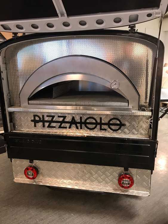 Pizzaiolo pizzugn gas 2-4 pizzor. Antracit.  I lager