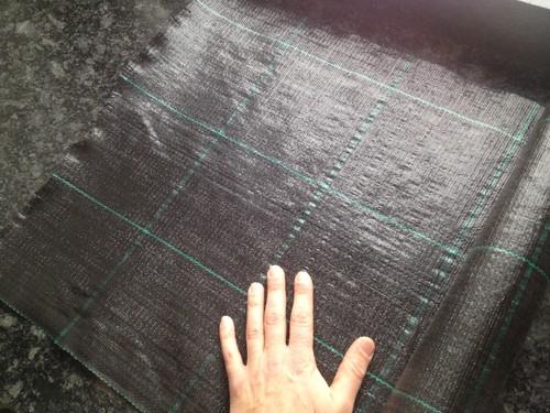 MARKTÄCKVÄV svart 100 meter x 5,25 m bred.