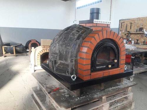 Pizzaugn Tudor med natursten 105 cm
