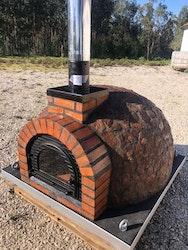 Pizzaugn isolerad Modell nr 9. 110 x 110 cm.
