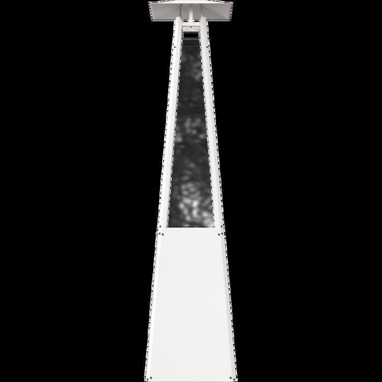 NARVIK VIT gasolvärmare för terrass eller altan (inkl frakt)
