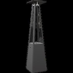 NARVIK Svart, gasolvärmare för altan och terrass (inkl frakt)