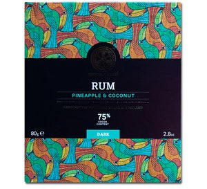 Chocolate Tree - Rum Pineapple & Coconut 75%