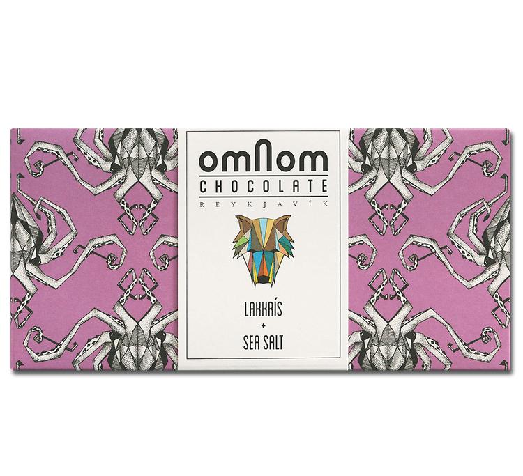 Omnom - Lakkrís + Seasalt