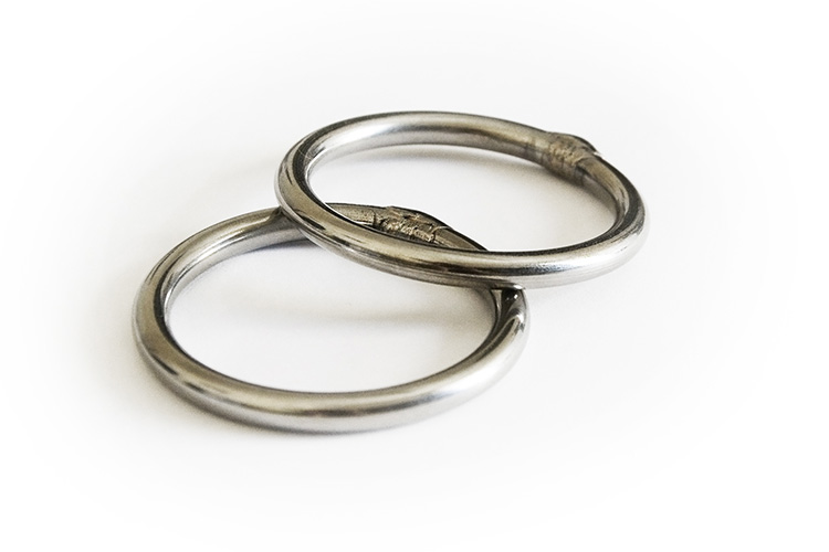 STEEL HAMMOCK RINGS