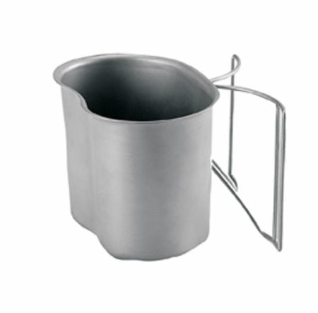 ROTHCO STAINLESS STEEL CANTEEN CUP